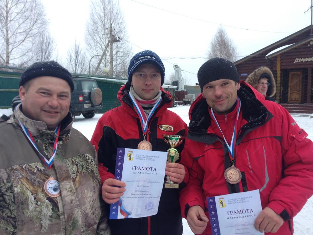 Чемпионат Ярославской области по ловле рыбы на зимнюю блесну - 2016